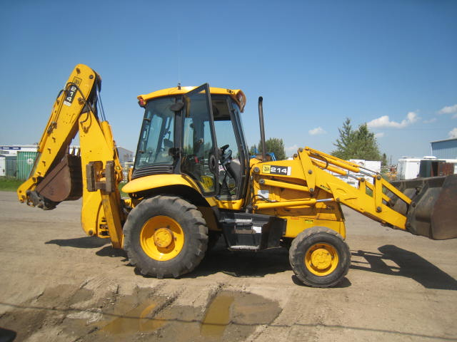 Where to find TRACTOR,BACKHOE JCB 214 in Ketchum