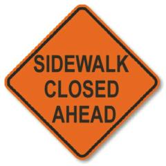 Where to rent CONE, SIDEWALK CLOSED AHEAD WITH 28 in Ketchum ID