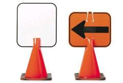 Where to rent CONE, REVERSIBLE ARROW SIGN WITH 28 in Ketchum ID